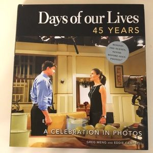 Days of our Lives 45 Years picture book